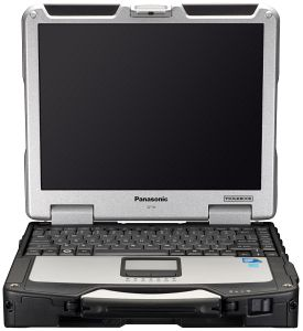 Panasonic Toughbook CF-31 standard, Core i5-520M, 2GB RAM, 160GB, Windows 7 Professional (CF-31ATAAXPE), UK