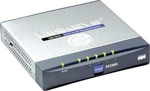 Linksys SD2005, 5-port