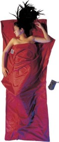 Cocoon TravelSheet silk/cotton cottage sleeping bag monk's red