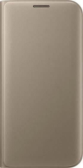 Samsung EF-WG935PF Flip Wallet für Galaxy S7 Edge gold