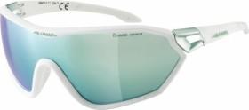 Alpina S-Way CM+ white matt-pistachio/ceramic mirror emerald (A8605.0.11)