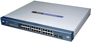 Linksys SR2024, 24-Port