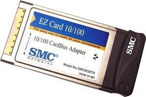 SMC EZ Card 10/100 8036TX, 1x 100Base-TX, Cardbus