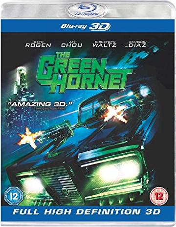 The Green Hornet (2011) (3D) (Blu-ray) (UK) -- via Amazon Partnerprogramm