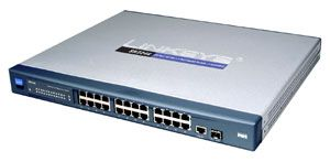 Linksys SR224G, 24-Port