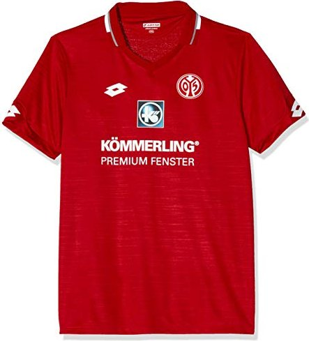 Lotto FSV Mainz 05 Heimtrikot -- via Amazon Partnerprogramm