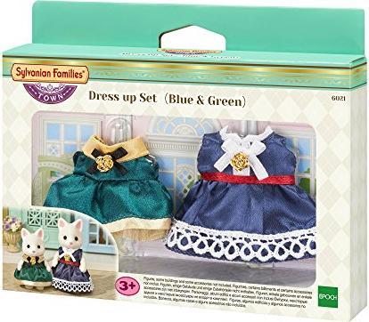 Sylvanian Families Town-Kleiderset-Spielzeug Kind Kinderspiel Mädchen Spielset Babypuppen & Zubehör