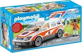 playmobil City Life - Notarzt-PKW mit Licht und Sound (70050)