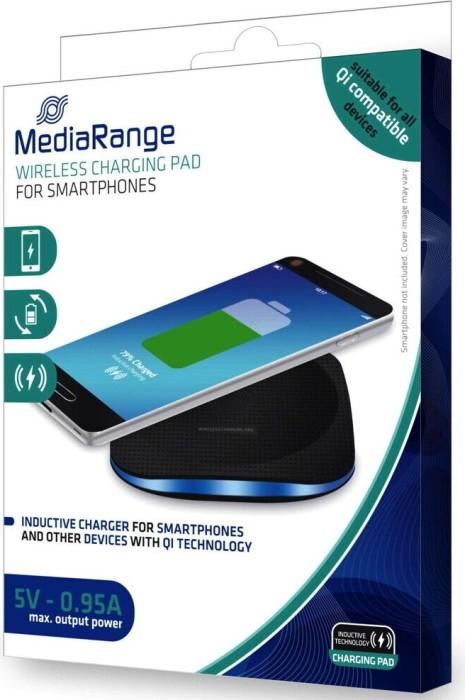 MediaRange Wireless Charging Pad schwarz (MRMA110) -- via Amazon Partnerprogramm