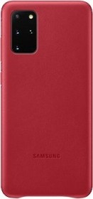 Samsung Leather Cover für Galaxy S20+ rot (EF-VG985LREGEU)