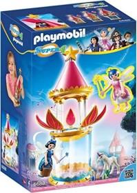 playmobil Super 4 - Zauberhafter Blütenturm mit Feen-Spieluhr und Twinkle (6688)