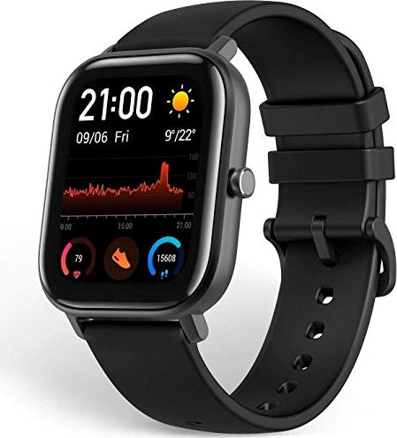 Huami Amazfit GTS Obsidian Black -- via Amazon Partnerprogramm