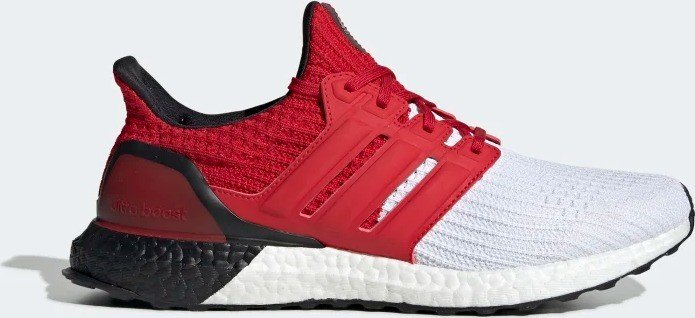 adidas Ultra Boost cloud white/scarlet