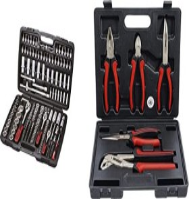 "KS Tools bit set/wrench set 1/4"" 3/8"" 1/2"", 179-piece. (917.0779)"
