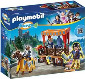 playmobil Super 4 - Königstribüne mit Alex (6695)