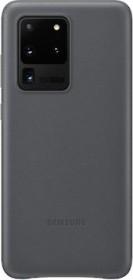 Samsung Leather Cover für Galaxy S20 Ultra grau (EF-VG988LJEGEU)