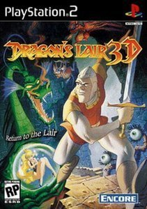 Dragon's Lair 3D (niemiecki) (PS2)