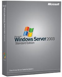 Microsoft: Windows Server 2003 Standard Edition, incl. 10 clients (English) (PC) (P73-00003)