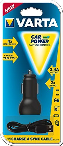Varta Car Power Fast USB Charger (57931-101-401) -- via Amazon Partnerprogramm