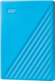 Western Digital WD My Passport Portable Storage 2019 blau 2TB, USB 3.0 Micro-B (WDBYVG0020BBL)