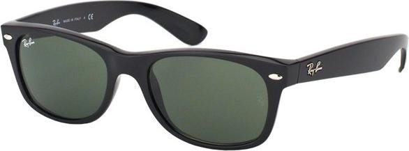 Ray-Ban RB2132 New Wayfarer Classic 52mm black/green (901/58) -- ©Glasses&Co