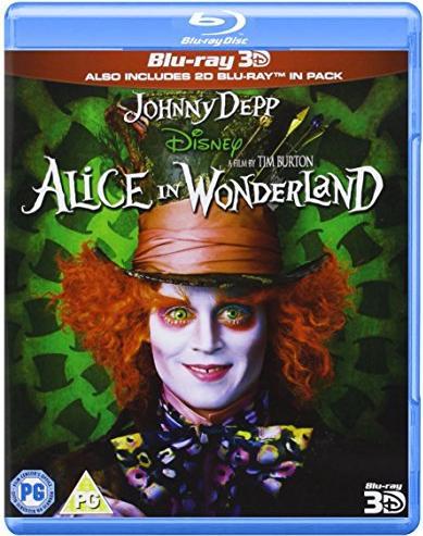 Alice In Wonderland (2010) (3D) (Blu-ray) (UK) -- via Amazon Partnerprogramm