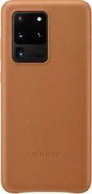 Samsung Leather Cover für Galaxy S20 Ultra braun (EF-VG988LAEGEU)