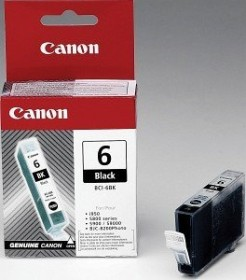 Canon ink BCI-6BK black (4705A002/4705A021)