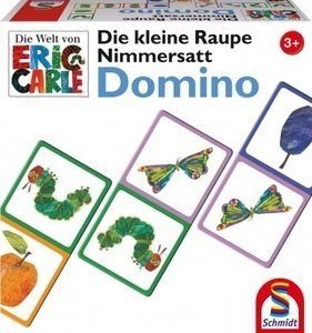 Die small caterpillar Nimmersatt - Domino