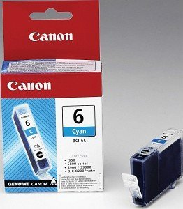 Canon BCI-6C ink cyan (4706A002/4706A017)