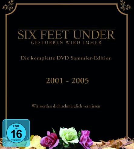 Six Feet Under - Gestorben wird immer Box (Season 1-5) -- via Amazon Partnerprogramm