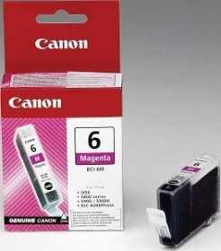 Canon ink BCI-6M magenta (4707A002 / 4707A014)