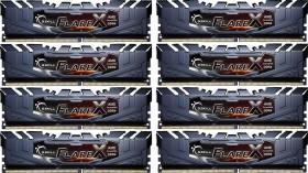 G.Skill Flare X schwarz DIMM Kit 128GB, DDR4-2933, CL16-16-16-36 (F4-2933C16Q2-128GFX)