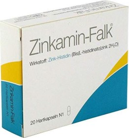 Zinkamin-Falk 15mg Hartkapseln, 20 Stück