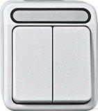 Merten Aquastar Serienschalter 1-polig, polarweiß (MEG3115-8019)