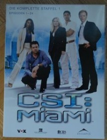 CSI Miami Season 1 (DVD)