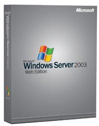Microsoft Windows Server 2003 Web Edition non-OSB/DSP/SB (englisch) (PC) (P70-00003)