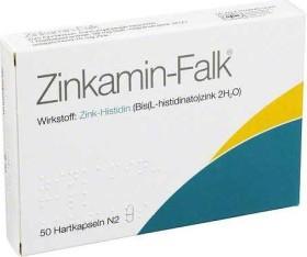 Zinkamin-Falk 15mg Hartkapseln, 50 Stück