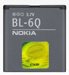 Nokia BL-6Q rechargeable battery