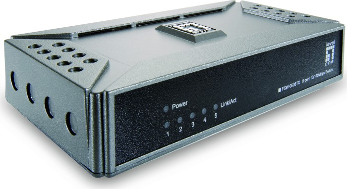 Level One FSW-0508TX, 5-Port