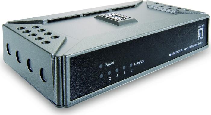 Level One FSW Desktop Switch, 5x RJ-45 (FSW-0508TX/530135)
