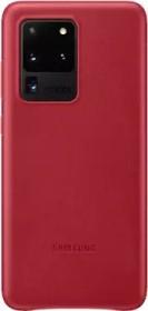 Samsung Leather Cover für Galaxy S20 Ultra rot (EF-VG988LREGEU)