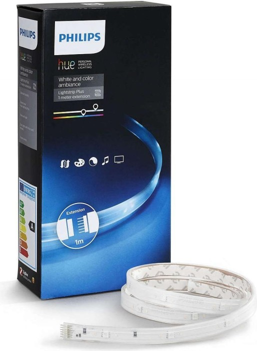 Philips Hue White and Color Ambiance LightStrip Plus Extension 1m (71902/55/PH)