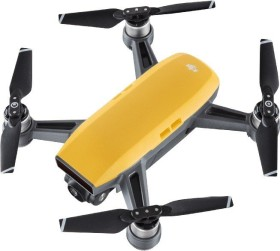 DJI Spark mit Fernsteuerung gelb