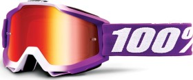 100% Accuri Goggle framboise/mirror red lens (50210-287-02)