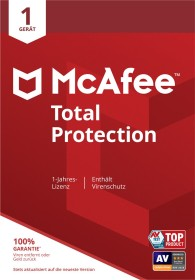 McAfee Total Protection 2020, 1 User, ESD (multilingual) (Multi-Device)