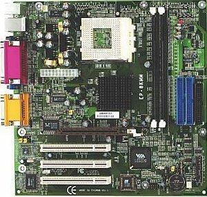 EPoX EP-8KMM+, KM266, VGA, LAN (DDR)