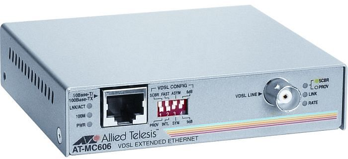 Allied Telesis AT-MC606, VDSL to 100Base-TX/POTS
