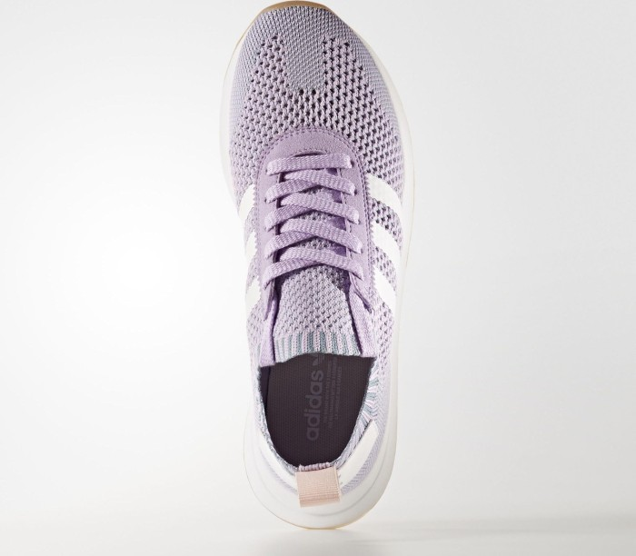 new style 6972b af1a0 adidas Flashback Primeknit purple glowwhitetactile blue (Damen) (BY9103)