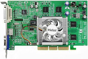Leadtek WinFast A180 DDR TDH, GeForce4 MX440-8X, 64MB DDR, DVI, TV-out, AGP